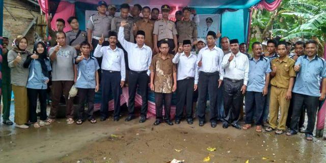 Penyampaian Visi Misi Calon Kepala Desa di Desa Ujungjaya Kecamatan Sumur