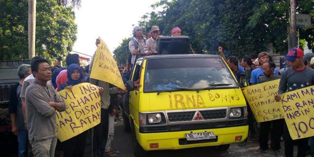 Masyarakat Rancapinang Menagih Janji Kompanye Bupati Pandeglang yang Akan Membangun Infrastruktur Jalan
