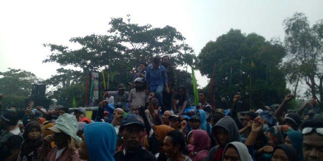 Masyarakat Rancapinang Kembali Menagih Janji Kampanye Bupati Pandeglang
