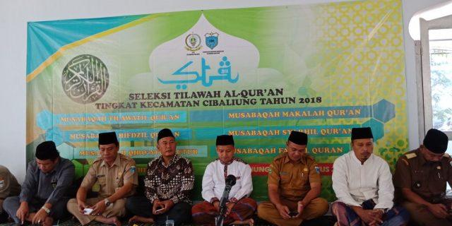 LPTQ Kecamatan Cibaliung Menggelar STQ Tingkat Kecamatan