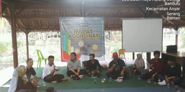 Saya, dan Rapat Koordinasi FTBM Banten