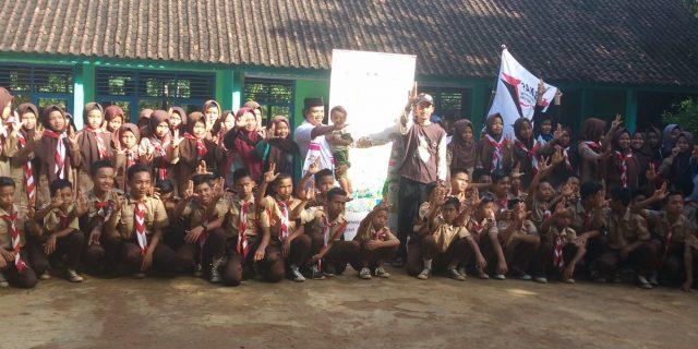 ShareLite Saung Huma Advanture Literation dan Peresmian Pojok Literasi PPM Baitul Azhar Cicadas