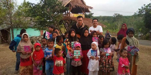 Hari Anak Nasional, Ceria di TBM Saung Huma