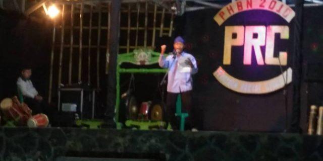 PRC-PHBN Cibaliung Menggelar Lomba Baca Puisi
